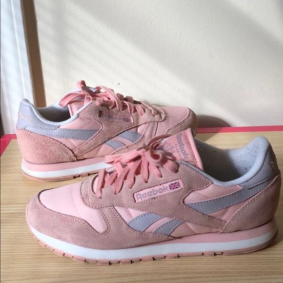 reebok shoes pink